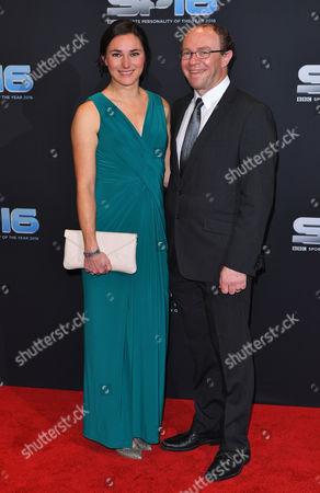 Sarah Storey and Barney Storey