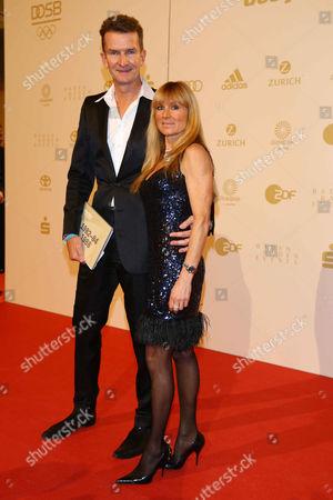 Michael Gross, wife Illona
