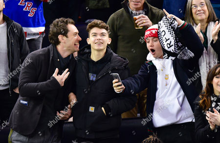 Editorial photo of Celebrities at New Jersey Devils v New York Rangers, NHL ice hockey match, Madison Square Garden, New York, USA - 18 Dec 2016
