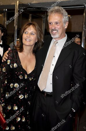 German Director Caroline Link (l) Poses with Writer Scott Campbell at the World Premiere of Her Film 'A Year Ago in Winter' at the 33rd Annual Toronto International Film Festival in Toronto Canada On 09 September 2008