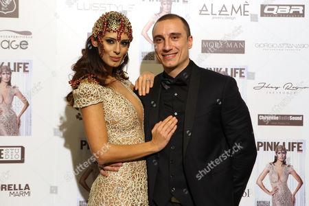 Raffaella Modugno and brother