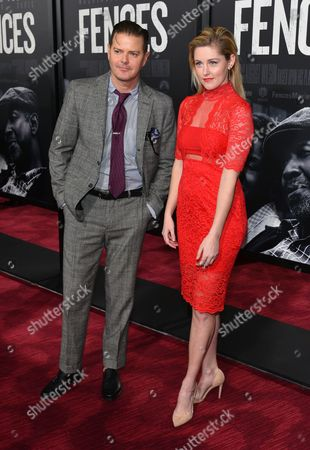 Stock Image of Clarke Thorell and Taylor Louderman