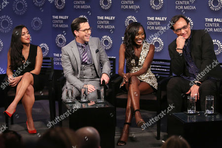 Coral Pena, Dan Bucatinsky, Anna Diop and Jimmy Smits