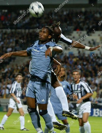 Editorial picture of Soccer Uefa Champions League Om Vs Partizan - Oct 2003