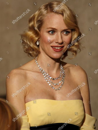 Australian Actor Naomi Watts Poses After Presenting John Knoll Hal Hickel Charles Gibson and Allen Hall Their Oscars For Achievement in Visual Effects For 'Pirates of the Caribben: Dead Man's Chest' at the 79th Annual Academy Awards at the Kodak Theatre in Hollywood California Sunday 25 February 2007