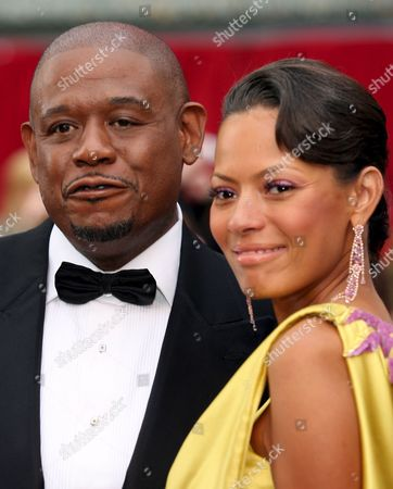 Us Actor Forrest Whitaker (l) and Wife Keisha Whitaker (r) Arrive For the 79th Annual Academy Awards at the Kodak Theatre in Hollywood California Sunday 25 February 2007
