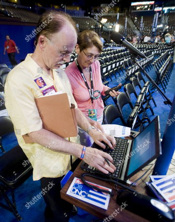 Editorial picture of Usa Democratic Convention - Aug 2008