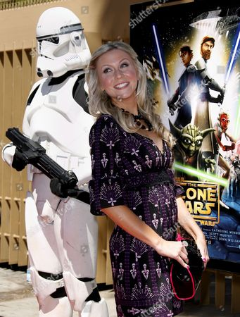 Us Actress Ashley Eckstein Arrives For the Premiere of 'Star Wars: the Clone Wars' in Los Angeles California Usa 10 August 2008 Eckstein Voices the Ahsoka Tano Character in 'Star Wars: the Clone Wars' the First Ever Animated Feature From Lucasfilm Aniimation