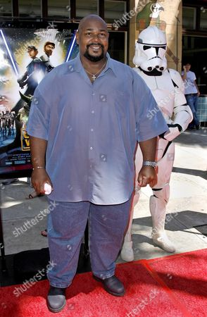 Us Actor Kevin Michael Richardson Arrives For the Premiere of 'Star Wars: the Clone Wars' in Los Angeles California Usa 10 August 2008 Richardson Voices the Jabba the Hutt Character in 'Star Wars: the Clone Wars' the First Ever Animated Feature From Lucasfilm Aniimation