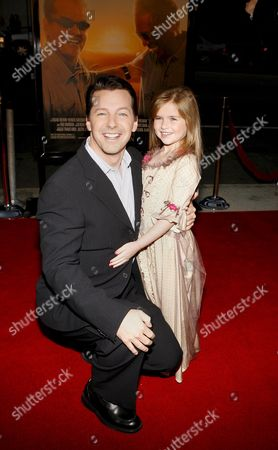 Us Actors Sean Hayes (l) and Taylor Ann Thompson (r) at the Film Premiere of 'The Bucket List' in Los Angeles California Usa 16 December 2007 'The Bucket List' is the Story of Two Terminally Ill Men (jack Nicholson and Morgan Freeman) Who Escape From a Cancer Ward and Embark On a Road Trip to Do All of the Things They Ever Wanted to Do Before They Die