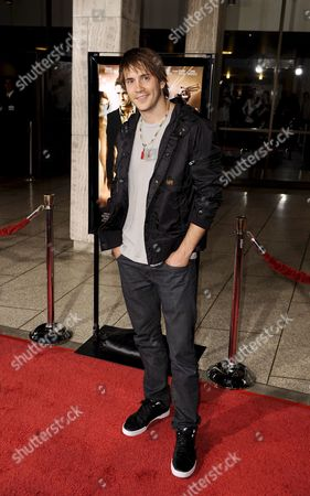 Us Actor Robert Hoffman Arrives For the 'Rocknrolla' Film Premiere in Los Angeles Usa 06 October 2008 the Action Comedy is a Tale of Sex Thugs and Rock 'N Roll