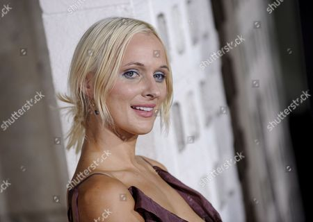 Stock Image of Polish Actress Dominika Wolski Arrives For the 'Rocknrolla' Film Premiere in Los Angeles California Usa 06 October 2008 the Action Comedy is a Tale of Sex Thugs and Rock 'N Roll