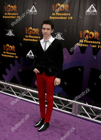 Us Actor Liam Aiken Arrives For the Premiere of the Metro Goldwyn Mayer Animated Feature Film 'Igor' at Grauman's Chinese Theater in Hollywood California Usa 13 September 2008 'Igor' is the Story of an Evil Scientist's Hunchbacked Lab Assistant Who Dreams of Becoming an Evil Scientist in His Own Right
