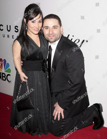 Us Actress Meredith Eaton Arrives with Her Husband Brian Gordon at the Nbc/universal Pictures/focus Features Golden Globes After Party at the Beverly Hilton Hotel in Beverly Hills Los Angeles California Usa 11 January 2009 the Golden Globes Honour Excellence in Film and Television