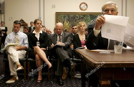Retired Us Army General Wesley Clark Testifies Before the House Armed Services Committee's Hearing On 'Alternatives For Iraq's Future' On Capitol Hill in Washington D C Usa 12 July 2007 Clark the Former Nato Supreme Allied Commander Was Also a Democratic Presidential Candidate in 2004