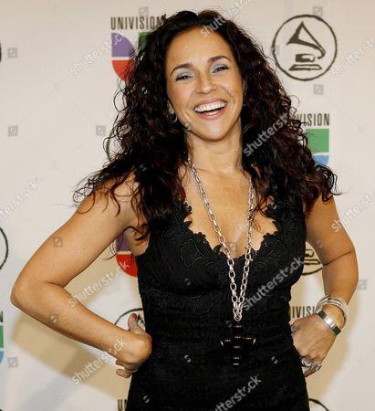Brazilian Singer Daniela Mercury Arrives For the 7th Annual Latin Grammy Awards at Madison Square Garden in New York On Thursday 02 November 2006