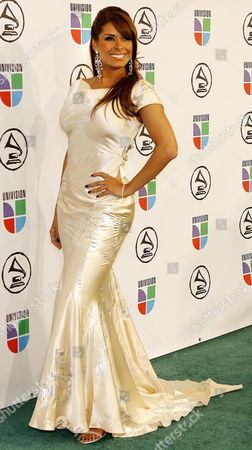 Galilea Montijo Arrives to the 7th Annual Latin Grammy Awards at Madison Square Garden in New York On Thursday 02 November 2006