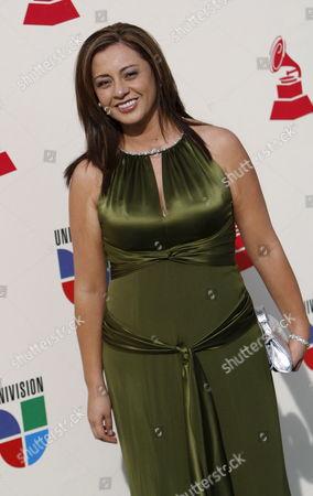 Ecuadorian Paulina Aguirre Arrives For the Latin Grammy Awards in Las Vegas Nevada Usa 08 November 2007