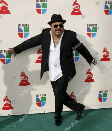 Cuban Born Singer and Songwriter Francisco Cespedes Arrives For the Latin Grammy Awards in Las Vegas Nevada Usa 08 November 2007