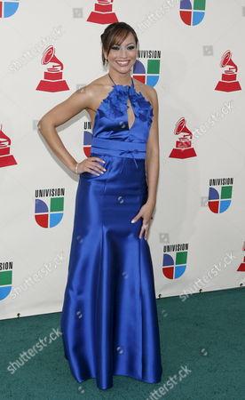 Satcha Pretto Arrives For the Latin Grammy Awards in Las Vegas Nevada Usa 08 November 2007