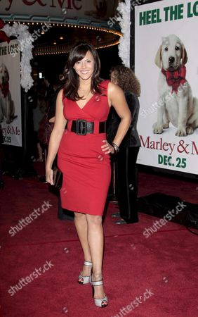 Us Actress Laura Nativo Arrives at the Premiere of Us Director David Frankel's Film 'Marley & Me' in Los Angeles California Usa 11 December 2008 'Marley & Me' is the Story of a Family That Learns Important Life Lessons From Their Adorable But Naughty and Neurotic Dog