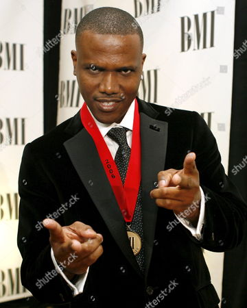 Stock Image of Recording Artist Kevin Lyttle Poses For Photographers After the 54th Annual Broadcasting Media Inc (bmi) Pop Awards in Beverly Hills California Tuesday 16 May 2006
