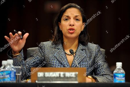 Dr Susan E Rice Attends a Confirmation Hearing On Her Nomination to Be U S Ambassador to the United Nations in the President-elect Barack Obama Administration On Capitol Hill in Washington Dc Usa On 15 January 2009