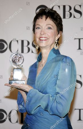 Actress Deanna Dunagan of the United States Holds the Tony Award Best Performance by a Leading Actress in a Play 'August: Osage County' in the Press Room at the 62nd Annual Tony Awards in New York New York Usa On 15 June 2008