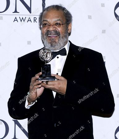 Actor Roger Robinson of the Us After Winning the 2009 Tony Award For Best Performance by a Featured Actor in a Play For His Performance in 'Joe Turner's Come and Gone' in New York New York On 07 June 2009