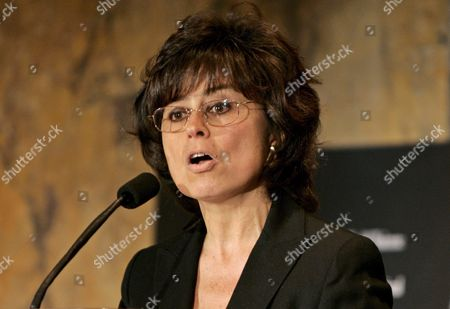 Columbian Author Laura Restrepo Speaks at the First Pen World Voices Festival and a Tribute to Miguel De Cervantes 'Don Quixote' at the New York Public Library in Manhattan Saturday 16 April 2005
