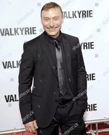 German Actor Werner Daehn Arrives On the Red Carpet at the Premiere of the New Movie 'Valkyrie' in New York Usa 15 December 2008