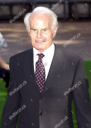 Richard Zanuck the Producer of the Film Arrives at the British Premier of 'Charlie and the Chocolate Factory' a New Family Comedy Directed by Tim Burton in Leicester Square London Sunday 17 July 2005