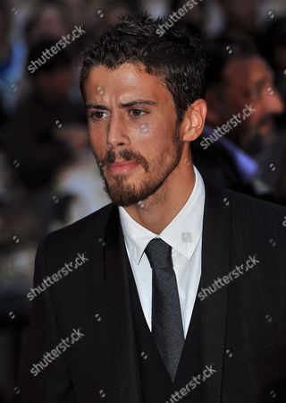 British Actor Toby Kebbell Arrives at the World Premiere of Director Guy Ritchie's New Film 'Rocknrolla' Held at the Odeon West End in Central London 1st September 2008 the Movie is an Action Thriller About London's Criminal Underworld and a Russian Mobster's Shady Land Deal Released 5th September Toby Kebbel Plays the Role of 'Johnny Quid' a Crackhead Musician