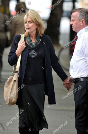 British Actress Joanna Lumley (l) with Peter Carroll Gurkhas Rights Campaigner Prior to a Meeting with British Immigration Minister Phil Woolas in London Britain 07 May 2009 Phil Woolas Sought to 'Reassure' Joanna Lumley That Rulings Rejecting Former Gurkha Soldiers' Rights to Settle in the Britian Will Be Reconsidered During Their Meeting 07 May the Immigration Minister Held a Hasty Meeting with the Actress and Gurkha Campaigner in the Bbc's Westminster Office to Discuss the Verdicts United Kingdom London