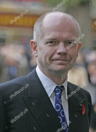 Former Conservative Party Leader William Hague Arrives at Westminster Abbey in Central London For the Memorial Service For Former Conservative Prime Minister Sir Edward Heath Tuesday 8 November 2005 Epa/geoff Caddick