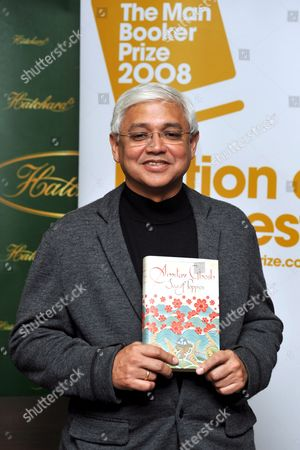 Shortlisted Author For the Man Booker Prize For Fiction Indian Writer Amitav Ghosh Poses For Photographers at Hatchard's Bookshop in Central London Britain 14 October 2008 the Man Booker Prize For Fiction is the English Speaking World's Most Coveted Literary Award the Winner Will Be Announced Later On 14 October