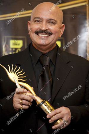 Stock Photo of Indian Director Rakesh Roshan Meets the Press After Winning the Award For Director of the Decade On the Third and Final Day of the of the Iifa (international Indian Film Academy) Awards Weekend at the Venetian Casino Resort in Macau China 13 June 2009 the Iifa Awards Are Often Referred to As the Bollywood Oscars Celebrating the International Nature of Indian Cinema This Marks the 10th Year of the Awards Which Are Held in a Different Country Each Year