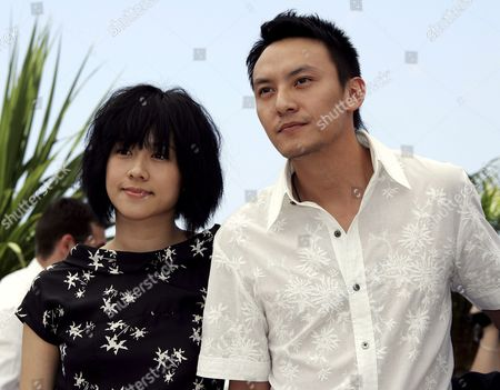 Chinese Actress Karena Lam and Chinese Actor Chen Chan Pose During a Photo Call For Their Film 'Guisi' by Chinese Director Chao-pin Su Running out of Competition at the 59th Cannes Film Festival Wednesday 24 May 2006 in Cannes