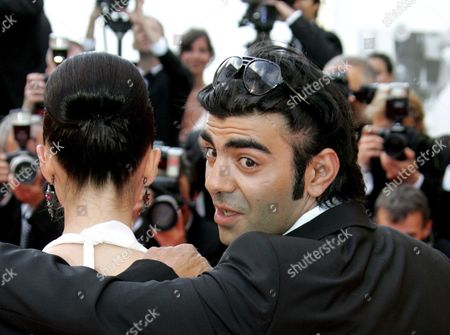 Turkish Actress Nurgul Yesilcay (l) and Turkish Director Fatih Akin Arrive For the Closing Ceremony of the 60th Cannes Film Festival 27 May 2007 in Cannes France Turkish Director Fatih Akin Received the Best Screenplay Award 27 May 2007 For His Film the Edge of Heaven' ('auf Der Anderen Seite') During the Awards Ceremony at the 60th International Film Festival