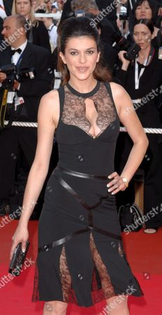 Stock Photo of Bosnian Model Jovanka Sopalovic Arrives at the Festival Palace For a Gala Screening of Us Director Michael Moore's Film 'Sicko' Running out of Competition at the 60th Cannes Film Festival 19 May 2007 in Cannes France