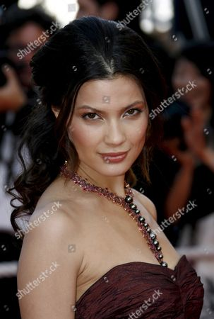 Norwegian Model and Actress Natassia Malthe Arrives For the Gala Screening of Us Director Charlie Kaufman's Film 'Synecdoche New York' Running in Competition at the 61st Edition of the Cannes Film Festival 23 May 2008 in Cannes France