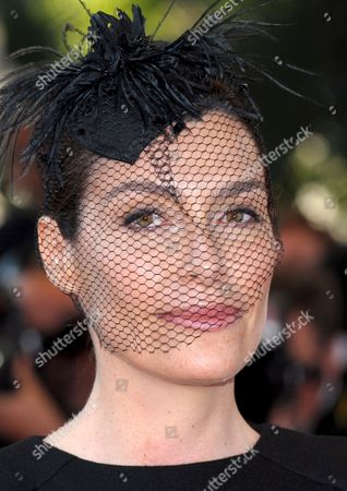 Tv Host Daphne Roulier From France Arrives For the Gala Screening of the French/ Italian Film 'Un Prophete' by Jacques Audiard Running in Competition in the 62nd Edition of the Cannes Film Festival in Cannes France 16 May 2009