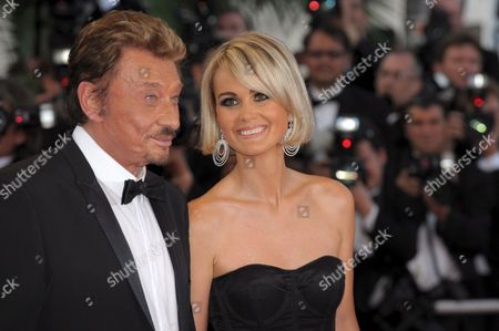 Cast and Crew Members Including French Rockstar Johnny Hallyday (2nd R) Arrive For the Gala Screening of Their Film 'Vengeance' by Johnny to Running in Competition During the 62nd Edition of the Cannes Film Festival in Cannes France 17 May 2009