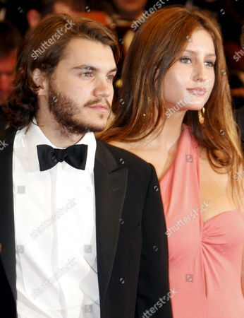 Us Actor Emile Hirsh and Guest Arrive For the Gala Screening of the Taiwanese/ American Film 'Taking Woodstock' by Ang Lee Running in Competition in the 62nd Edition of the Cannes Film Festival in Cannes France 16 May 2009