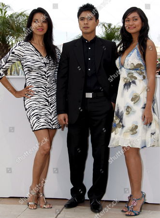 L-r Filipino Actress Maria Isabel Lopez Actor Coco Martin and Actress Mercedes Cabral Attend the Photocall For the Philippino Film 'Kinatay' by Brilliante Mendoza Running in Competition in the 62nd Edition of the Cannes Film Festival in Cannes France 17 May 2009 Epa/guillaume Horcajuelo Epa/guillaume Horcajuelo