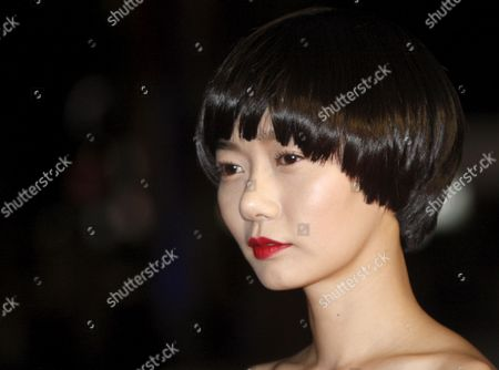 Korean Actress Bae Doo-na Arrives For the Gala Screening of the Japanese Film 'Kuki Ningyo' (air Doll) by Kore-eda Hirokazu Running in the 'Un Certain Regard' Category For the 62nd Edition of the Cannes Film Festival in Cannes France 14 May 2009