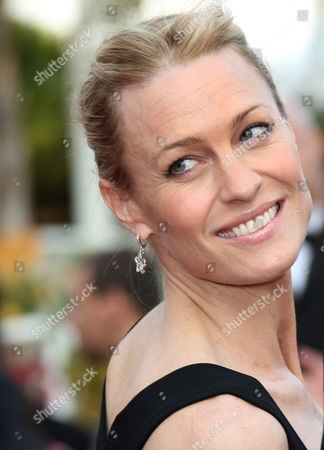 Us Actress Robin Wright Penn Arrives For the Gala Screening of the Film 'Vengeance' by Johnny to Running in Competition During the 62nd Edition of the Cannes Film Festival in Cannes France 17 May 2009