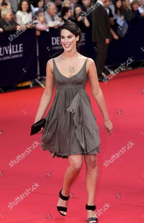French Actress Julie Fournier Poses As She Arrives On the Red Carpet For the Screening of Us Director Jay Roach's Film 'Recount' at the 34th Deauville American Film Festival 08 September 2008 in Deauville France the Festival is Scheduled For 05 to 14 September 2008