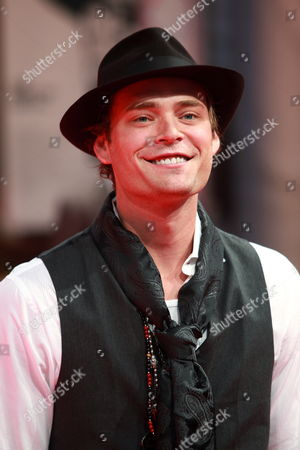 Stock Image of Us Actor Chris Backus Arrives at the Premiere of the Film 'Like Dandelion Dust' During the 35th Deauville American Film Festival in Deauville France 07 September 2009 the Festival Runs From 04 to 13 September