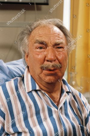 'Only When I Laugh' TV - 1982 - An old drunk who collapses in reception has actually come in to visit his long-lost son.  Charlie is played by Frank Middlemass.